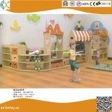 2018 Jardín de Infantes último juguete de madera Estante para niños