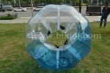 016 balón de fútbol barato TPU de la burbuja del medio color, bola clasificada humana de parachoques inflable de la burbuja del fútbol