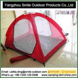 Im Freienstrand-Moskito-Netz-Schlafenkampierendes Zelt