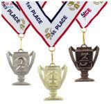 販売のための創造的な金張りの金属メダルをカスタマイズしなさい