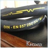 고압 DIN En 857 1sc/2sc 유압 호스