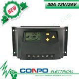 30A, 12V/24V, LCD ZonneControlemechanisme