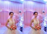Горячая продажа 3D-Flower валика клея устраивающих Gowns свадебные платья