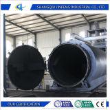 Resíduos de alto rendimento em óleo de borracha/pneu/planta de pirólise de plástico com marcação ISO SGS