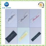 중국 공장 의류 상표 (JP-CL101)를 위한 싼 주문 고품질 t-셔츠 레이블
