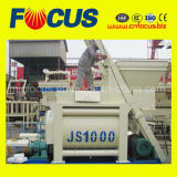 Misturador concreto do eixo gêmeo compulsório automático do misturador concreto Js1000