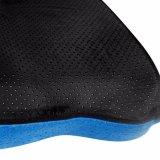 Mousse à mémoire de Coccyx orthopédiques Coussin de siège de voiture chaise de bureau de la douleur oreiller bleu