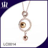 Mensen van uitstekende kwaliteit van Juwelen de Halsband van de Tegenhanger van de Gouden