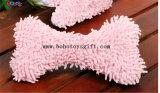 Squeaker BOSW1078/15CM를 가진 채워진 견면 벨벳 분홍색 나무 모양 애완 동물 장난감