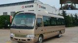 Omnibus turístico eléctrico del transporte del microbús de la estrella de la rampa del sillón de ruedas eléctrico