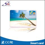 Impressão personalizada 13.56MHz Mf Cartão de PVC de RFID