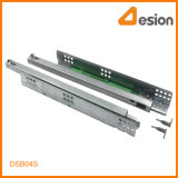 Peg Locking Half Extension Under Mounting Diapositives de fermeture souples dissimulées