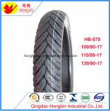 Hochwertiger schlauchloser Motobike Reifen-Motorrad-Gummireifen 120/70-12 130/70-12