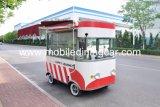 Camion professionnel de nourriture et chariot mobile de nourriture