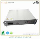 48V 50AH Lithiumbattery Pack para sistemas de armazenamento de energia inicial