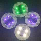 Populär LED anpassen leuchten dem Cup-Aufkleber mit Firmenzeichen gedruckt (4040)