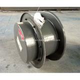 Instalado el cable de acero de pared carrete para cable de alimentación