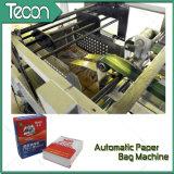 Cadena de producción pegada Full-Automatic de la bolsa de papel de la válvula