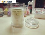 China-Fabrik roch Paraffin-Kerze im Glasglas für Geschenk-Set