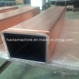正方形のタイプ銅型の管