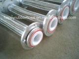 Seule la tresse de fils en acier inoxydable renforcé Flexible PTFE ondulé R14