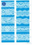 Elástica tela del cordón de la ropa / ropa / zapatos / bolso / la caja M007 (ancho: 8 cm)