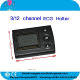 Ce approuvé ISO 3 / 12 canaux enregistreur Holter ECG 24/72 heures système logiciel d'analyse Holter Cardiac -Javier