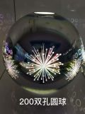 Hängende Lampen-Beleuchtung des runden Glas-3D in 3 verschiedenen Größen für Gaststätte/Esszimmer