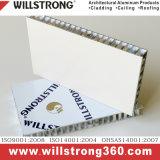 Panneau d'Honeycomb Spectural en aluminium pour les façades de couleur