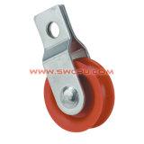 Einspritzung geformte Nylonplastikspannkettenriemenscheibe/Seil-Riemenscheibe mit Haken