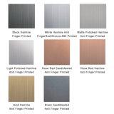 Feuille colorée d'acier inoxydable de conteneur de nourriture 304