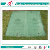 En124 SGS Plastic Rectangular Manhole Road Cover para engenharia civil