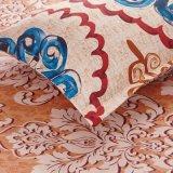 1800 de inzameling Geborstelde 4-stuk Bladen van het Bed Geplaatst het Linnen van het Bed van het Beddegoed van de Dekking van het Dekbed