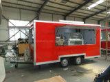 Трейлер быстро-приготовленное питания доставки с обслуживанием цены по прейскуранту завода-изготовителя передвижной