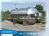 1000L de Tank van de Opslag van het Roestvrij staal van de Tank van de Opslag van de Tank van de Opslag van de olie Ss304 voor Olie