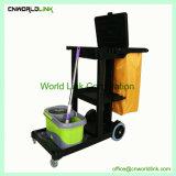 Carrinho de Serviço de limpeza limpeza multifuncional