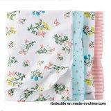 100%年の綿の看護カバーは高品質のタオルの赤ん坊毛布を包む