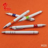 Pluma plástica del bolígrafo de la escritura de la venta al por mayor fluida de la pluma en venta
