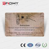 アクセス制御のための再使用可能なPVC MIFARE Ultralight (r) C RFIDカード