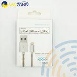 De Draad van de Kabel van Mfi 2.4A USB en de Kabel van Gegevens met Vergunning Mfi voor iPhone 8 van de Speld De Kabel van usb- Gegevens