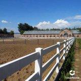 Pferden-Zaun des Vinyl3-rail