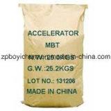 Acelerador de borracha (M), B-Tm c7h5ns2