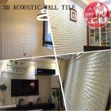 3D de PVC decorativas Autoadhesivas Soundabsorb mosaico para Home Theater
