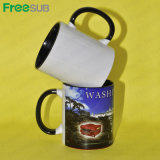 Freesub 11oz Rim und Handle Color Blank Sublimation Mug,