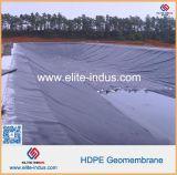 Membrana lisa de impermeabilización de Geo del HDPE de los materiales del sótano