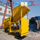 Gold alluvionale Mobile Trommel Screening e Washing Plant