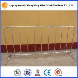 Portatile galvanizzato/barriera rivestita del pedone della barriera di controllo folla della polvere