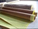 De TeflonStoffen op hoge temperatuur van de Weerstand, PTFE Stoffen, Glassfiber Met een laag bedekte PTFE