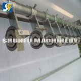 Shunfu увидело, что машина крена вырезывания бумажная для салфетки завернула производственную линию в бумагу оборудование
