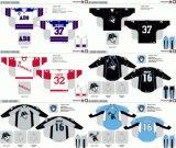 Hokey di ghiaccio americano personalizzato degli ammiragli 2006-2016 di Milwaukee della Lega di Hockey dei capretti delle donne degli uomini Jersey
